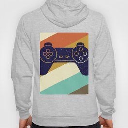 Retro Vintage Design With Controller Video Game Lover's Gift Hoody