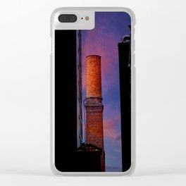 New York Sunset 10 Clear iPhone Case