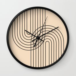 Abstraction_LINE_CONNECT_POP_ART_008K Wall Clock