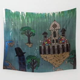My Floating City Wall Tapestry