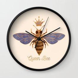 Queen Bee - Light Version Wall Clock