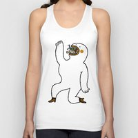 eat Tank Tops featuring Eat Eat Eat by Jarvis Glasses