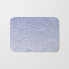 Lavender Hexagon Crystal Bath Mat