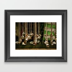 Excuse me, have you got the time?  Framed Art Print