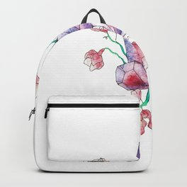 Crystal and Bud Backpack