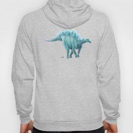 Blue Stegosaurus Hoody