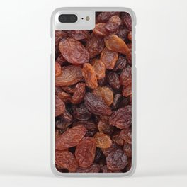 Juicy sultanas Clear iPhone Case