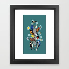 Picky Feeders Framed Art Print