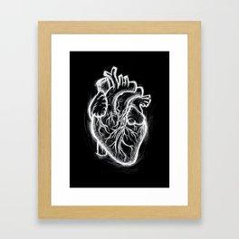 Telltale Heart Framed Art Print