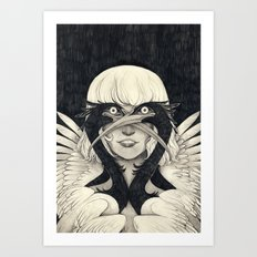 FOUREYES Art Print