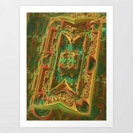 Pipeline Chaos Art Print