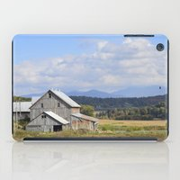 vermont iPad Cases featuring Vermont Barn by Ashley Callan