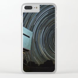 Blinded By The Light Clear iPhone Case