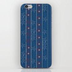 Captain Stripe iPhone & iPod Skin
