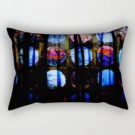 Moon Polka Dots Rectangular Pillow