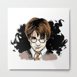 harry potters Metal Print
