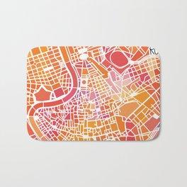 Rome map Bath Mat