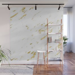 Marble - Yellow Gold Marble Design Wall Mural