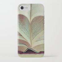 literary iPhone & iPod Cases featuring i heart books by shannonblue