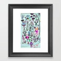 skellingpop Framed Art Print