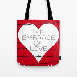 The embrace of love Tote Bag