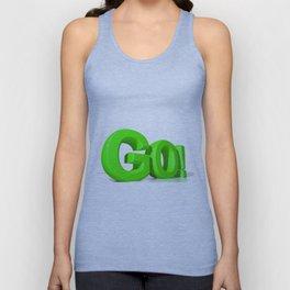 GO Green Unisex Tank Top