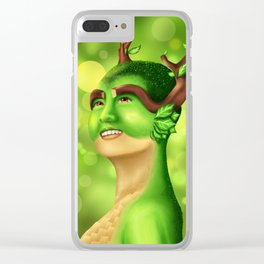 Lil' Sis' Nature Clear iPhone Case