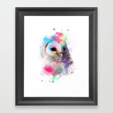My Dear Owl Framed Art Print