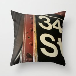 Where Miracles Happen Throw Pillow