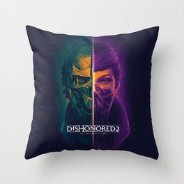 Corvo v Emily Throw Pillow