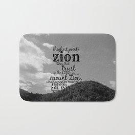 Zion  Bath Mat