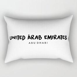 Abu Dhabi x UAE Rectangular Pillow
