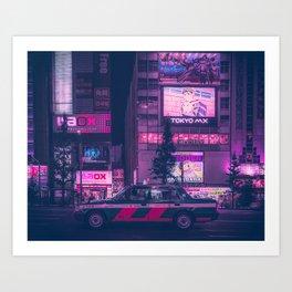 Taxi !! Kunstdrucke