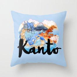 Kanto Throw Pillow