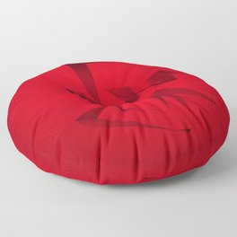 RED ANGLE Floor Pillow