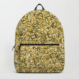 Gold Arrows Pattern Backpack