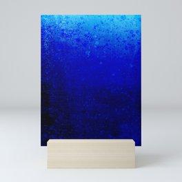 Ocean blue Mini Art Print