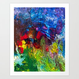 From the Cave Art Print