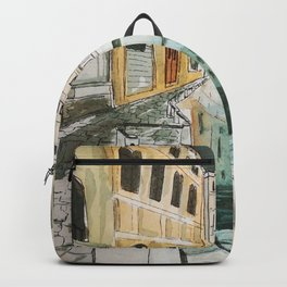 Venice by night Backpack