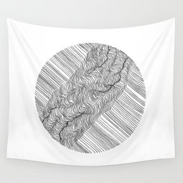 Rift Lines Wall Tapestry