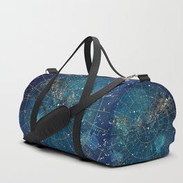 Star Map :: City Lights Duffle Bag
