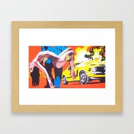 Not Super Enough Framed Art Print