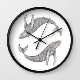 Megaptera Novaeangliae [Ted] II Wall Clock