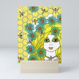The Bee Keeper Mini Art Print
