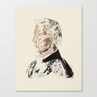 bill murray Canvas Prints featuring Bill Murray by Kyle Louis Fletcher