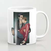 sterek Mugs featuring Sterek by callahaa