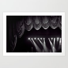 Stage Lights Art Print
