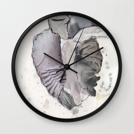 Heart of Marble Wall Clock