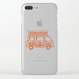Rosie Campervan Clear iPhone Case