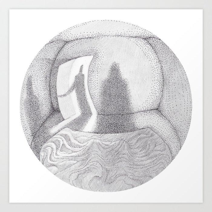Sleep Paralysis Art Print by hadenreed